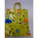 Yellow Cat Themed Bag