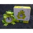 Novelty Frog Clock