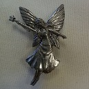 Fairy Pewter Pin Badge Ref PPB27