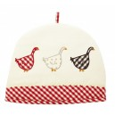 Gingham Geese Tea Cosey