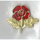Red Rose Pin Broach