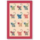 Ulster Weavers Applique Cat Linen Tea Towel